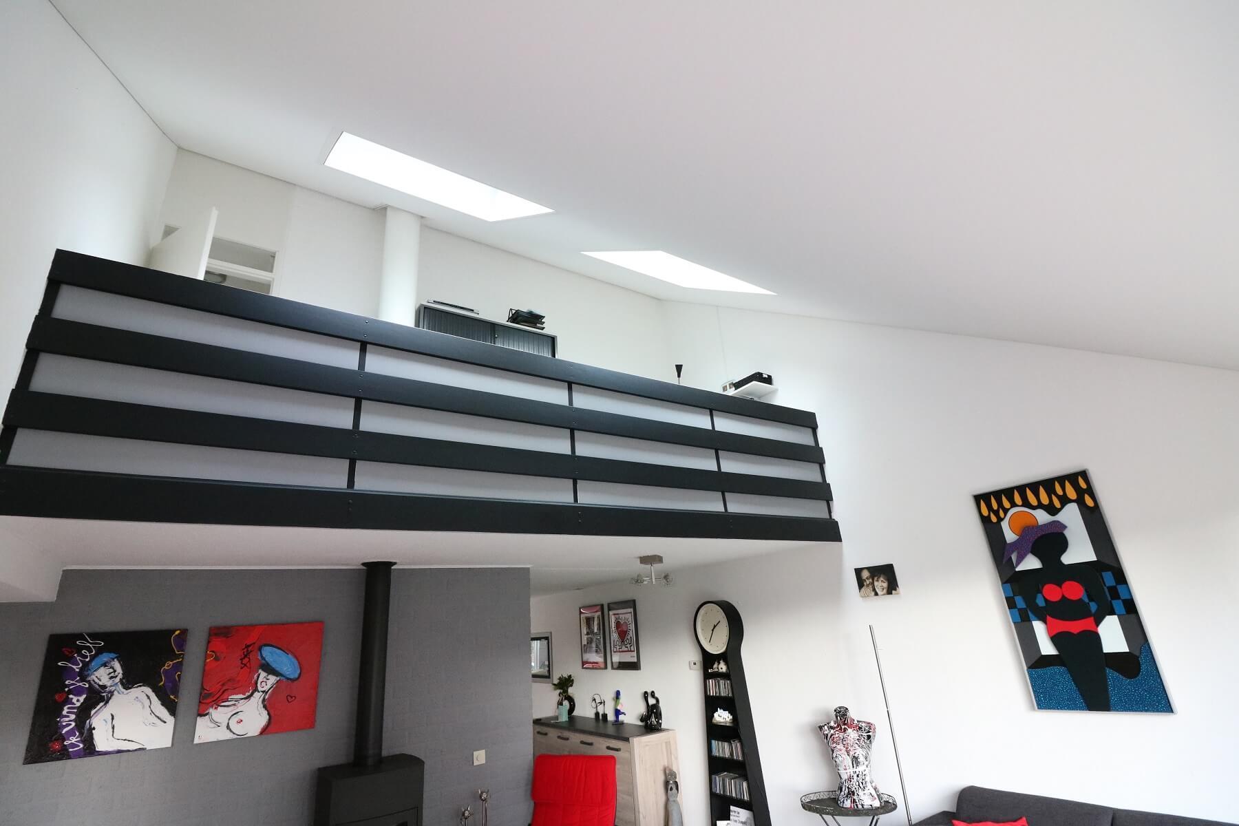 nieuw plafond woonkamer apeldoorn