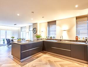 spanplafond keuken